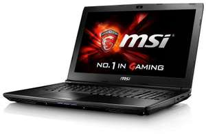 Saveonlaptops - MSI Laptop. i5-7300HQ  8GB RAM 128GB SSD and Dedicated Graphics: GTX-960M £599.97