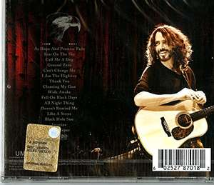 Chris Cornell Songbook CD only £2.99 prime / £4.98 non prime @ amazon.co.uk