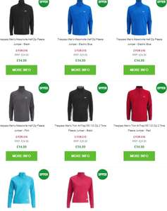 2 for £18 delivered on Trespass Fleece tops - A few designs (works out £9 each) @ Zavvi