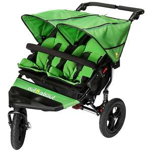 Out 'N' About Nipper 360 Double V4 Pushchair, Mojito (green) £300 @ John lewis