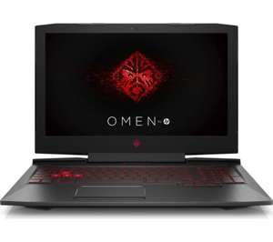 HP OMEN 15: (i7-7700HQ) (8GB DDR4-2400) (GTX 1050Ti 4GB DDR5) (Battery upto 12.5h) (WIFI AC 2x2) £999.99 @ Currys / Ebay