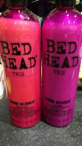 Bed Head TIGI shampoo and conditioner 750ml each £6.99 @ Home Bargains