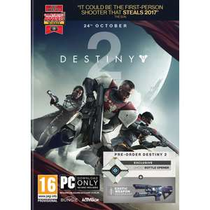 Destiny 2 (PC/Xbox One/PS4) £36.95 (+ free bottle opener for PC) @ Game Collection