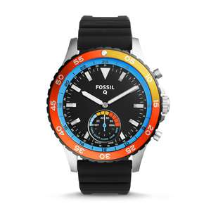 Fossil Q Crewmaster Black Silicone - £103 Delivered @ Fossil