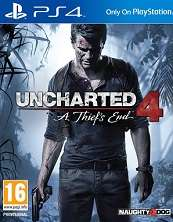 ex rental Uncharted 4 A Thiefs End PS4 £9.99 @ boomerang