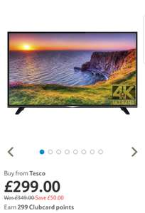 Digihome 49 Inch 4K Ultra HD Smart TV with Freeview Play @ Tesco - £299