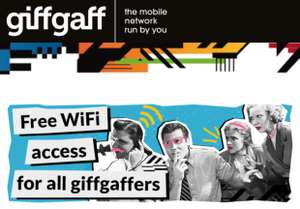 Free wifi hotspots for giffgaff users