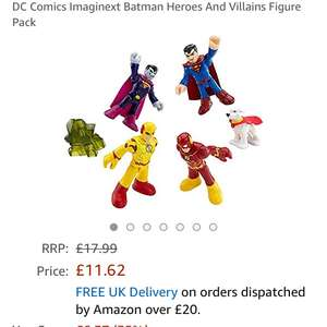 Imaginatext superheroes Reduce to £11.62  (Prime) / £15.61 (non Prime) at Amazon