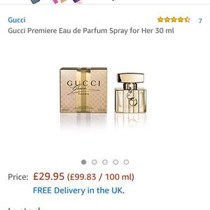 Gucci premiere eau de parfum 30ml £29.95 Amazon