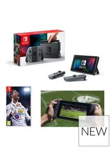 Nintendo Switch + Fifa 18 £30 credited back on 12 months BNPL £298.98 @ Very - Existing customers too
