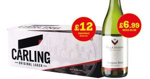 Carling 18 pack for £12. @ Bargain Booze