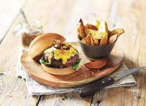 Aldi wagyu burgers are back - £3.49 instore