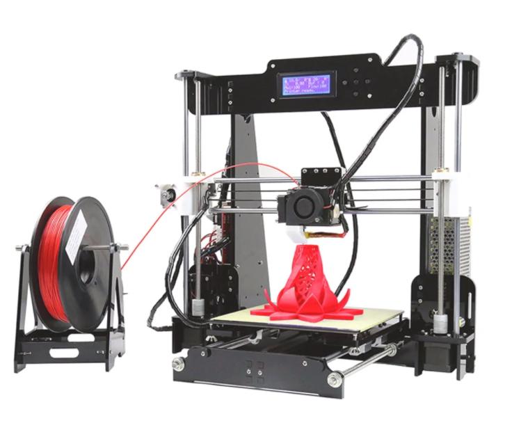 Anet A8 Desktop 3D Printer (UK Warehouse) EU Plug - Black £112.92 Delivered @ Gearbest