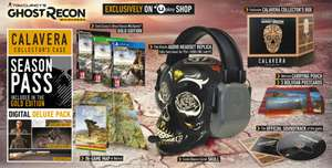 Tom Clancy's Ghost Recon Wildlands Calavera Collector's Edition (PS4) £57.59 (PC) £55.19 (Using 20% UBISoft Club) / or £64.79 (Using PROMO10) Delivered @ Ubi Store
