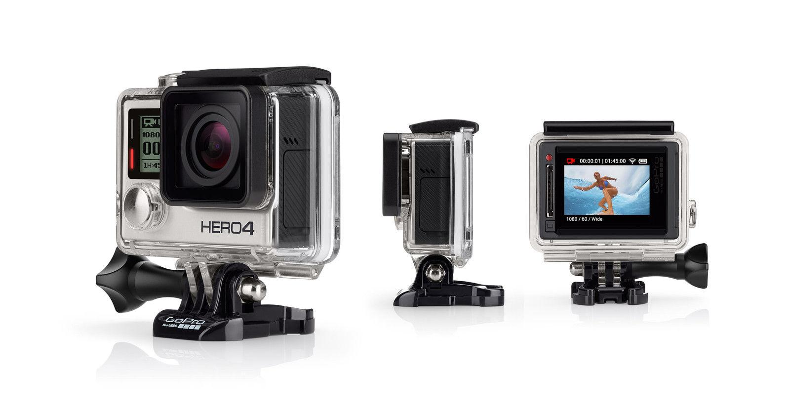 **Deal** - GoPro Hero 4 Silver camera Official Refurb on gopro_certified_uk  ebay UK @ £199.99 delivered!