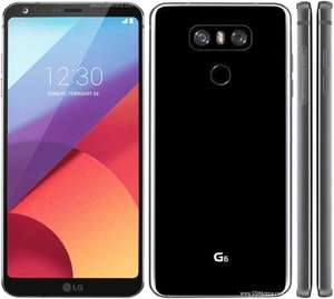 LG G6 £27 Per Month 24 months £9.99 upfront £657.99 Uswitch