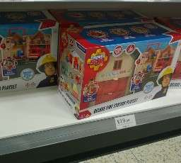 Fireman Sam Deluxe Fire Station Playset £19.99 at Home Bargains
