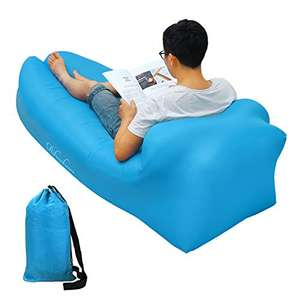 Rihachan Waterproof Air Bag Chair Sofa £6.49 prime / £11.24 non prime (Sold by  SuRanDigitsUK and Fulfilled by Amazon)