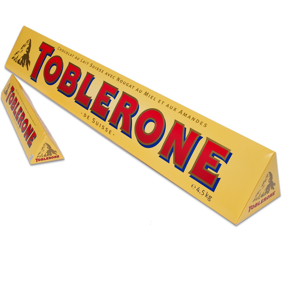4.5kg Toblerone £60 @ Tesco extra Stretford