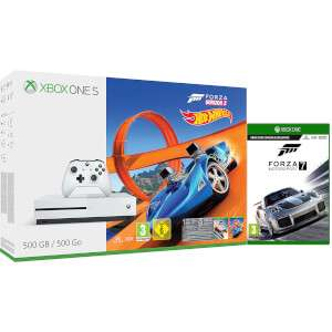 Xbox one s 500gb, Forza horizon 3, hot wheels DLC & Forza 7 £199 @ Zavvi