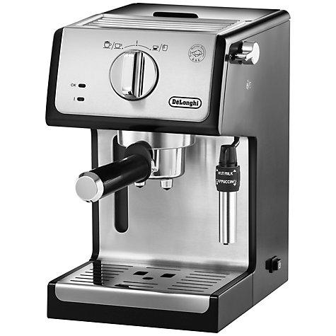 De'Longhi ECP Espresso Coffee Maker £119.99 delivered + 2 Year Guarantee  [ECP 3531] @ John Lewis [Similar Black model £99 at Argos/ebay in OP]