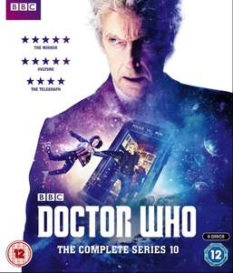 Doctor Who Series 10 Boxset Blu Ray £47.99 @ Base (currently £54.99 at Amazon)
