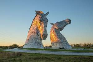 1 Night 4* Hotel Stay nr The Kelpies, Dinner, Wine & Breakfast for 2 People just £39.50pp (£79) @ The Grange Manor Via Wowcher