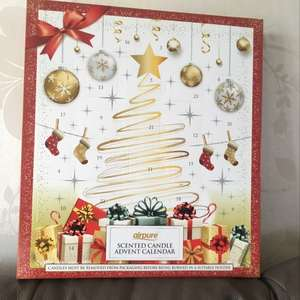 Scented Candle Advent Calendar £3.99 from b&m