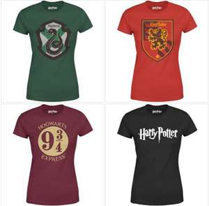 Mix and match -  Two Officially Licensed Harry Potter T-Shirts for £20 + FREE delivery at IWOOT ( 8 to choose from)