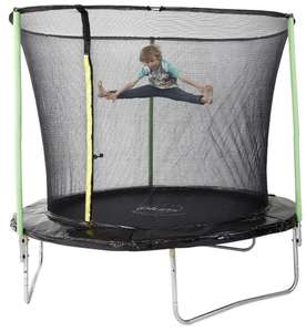Plum 8ft Trampoline & Enclosure was £100 now £70 (£77.95 delivered) @ Tesco