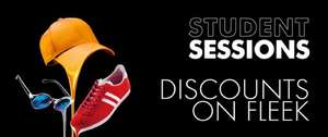 Bullring student sessions - students only , up to 20% off plus freebies