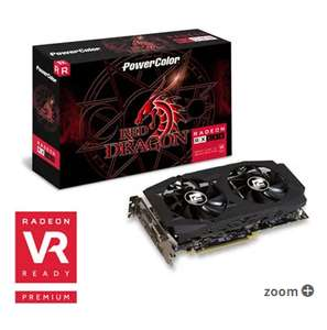 prices coming down - PowerColor AMD Radeon RX 580 8GB Red Dragon V2 Graphics Card £257.99 / £263.47 delivered @ Scan