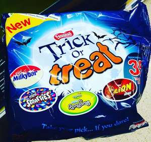 Nestle Trick or Treat fun size bag ( 35 ) £2.50 @ Asda
