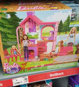 Barbie Camping Fun playset now £30 @ Asda instore / online