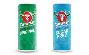 Carabao energy drink sugar free or regular 4 x 330ml cans for £1 @ Heron Foods