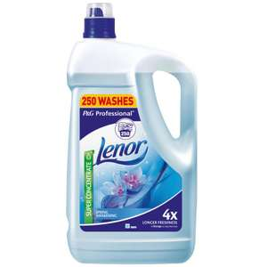 Lenor Spring Awakening Fabric Conditioner, 5L (250 washes) @ Costco warehouse