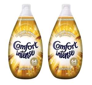 Comfort Intense Luxurious Fabric Conditioner 64 Wash 960ml PACK OF 2 @ Costco warehouse