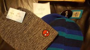 Boys beanie hats - 50p instore at Primark (Manchester)