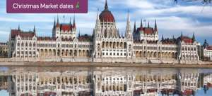Show deal: 4* Budapest hotel with indoor waterpark & breakfast from £38.50pp (return flights from £37) @ Holiday Pirates