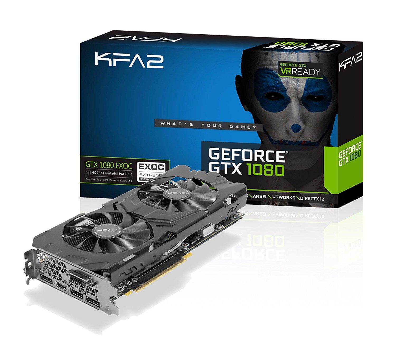 KFA2 Geforce GTX 1080 EXOC Amazon.it - £435
