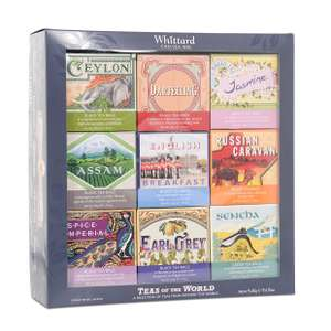 WHITTARD CHELSEA Teas Of The World Set 12.99  instore @ TKMaxx