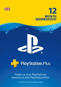 Playstation Plus 12 months £38.86 @ ShopTo