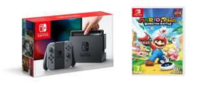 [In Stock Now] Nintendo Switch Grey and Mario + Rabbids Kingdom Battle £289.99 @ Tesco Direct