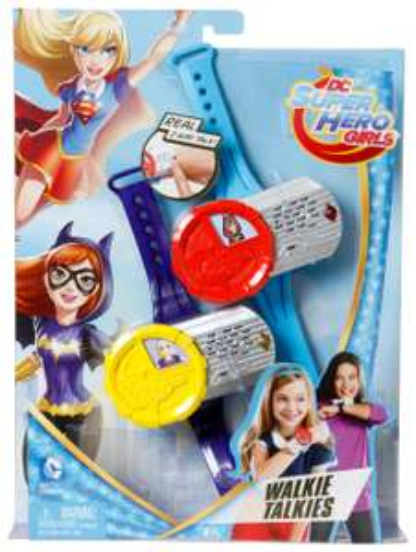 DC Super Hero Girls DNH03 Walkie Talkies £8.30 (Prime) Or £12.25 (Non-Prime) @ Amazon