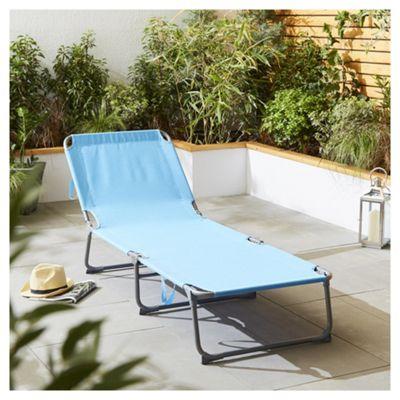 Aqua Folding Sun Lounger £10 + £3 delviery - Tesco (free c&c)