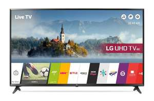 LG 43 inch 4K Ultra HD HDR Smart LED TV Freeview Play (6 year Warranty) - £399 @ Richer Sounds