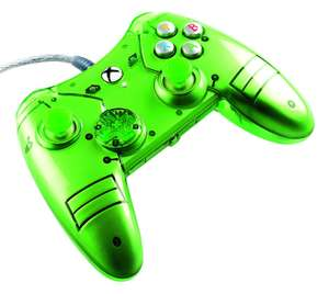 Xbox One Liquid Metal Green Wired Controller Preorder @ Game