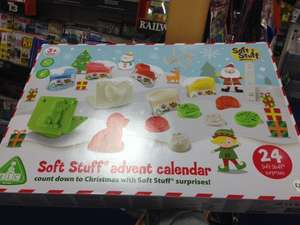 Soft Stuff Advent Calendar in store at ELC £12.50 from £20.00