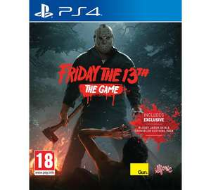Friday The 13th PS4/ Xbox One £23.99 at Argos