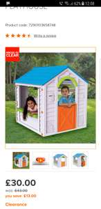 B&Q play house reduced to £30 (C&C Only)
